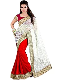Sarees (Women's Clothing Saree For Women Latest Design Wear Sarees Collection In Multi-Coloured Brasso Material...