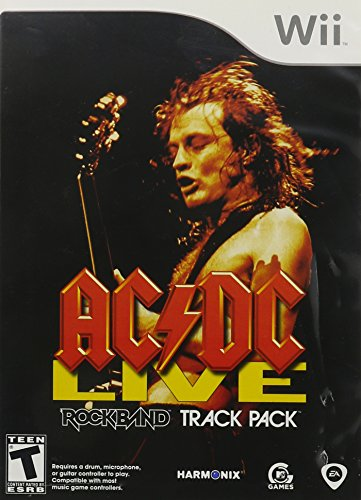 AC/DC Live: Rock Band Track Pack - Nintendo Wii (Ac Guitar compare prices)
