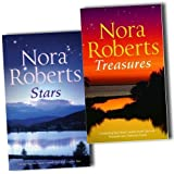 Nora Roberts Nora Roberts Collection The Stars of Mithra 4 Novels In 2 Books Set Pack New PB (Stars - Hidden Star, Captive Star; Treasures: Secret Star, Treasures Lost, Treasures Found)