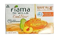 Fiama Di Wills Mild Dew Bathing Bar, 125g (Pack of 3)