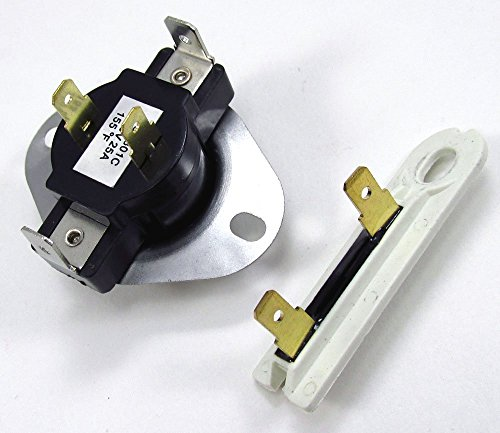 3387134 AND 3392519 DRYER CYCLING THERMOSTAT & THERMAL FUSE
