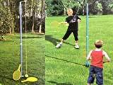 CHILDREN DOUBLE PLAYER SWINGBALL GAME QUALITY ROTOR SPIN SET GREAT TENNIS KIDS