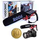 Rode Videomic Shotgun Microphone with Rycote Lyre Mount (Model: VIDEOMICR)