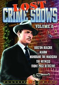 Lost Crimes Shows, Vol. 2