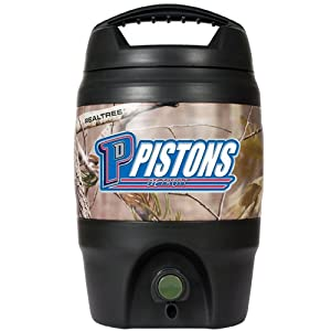 NBA Detroit Pistons Open Field 1 Gallon Tailgate Jug by Great American Products