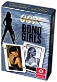 Girls of James Bond Poker Size Playing Cards, Single Deck
