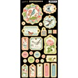 Graphic 45 Botanical Tea Chipboard-1