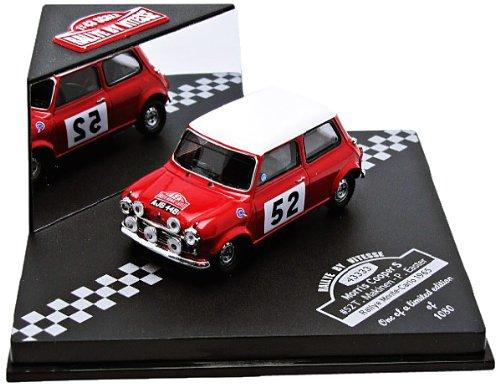 Vitesse - Modello da colllezione automobile Morris Cooper S #52, Rally di Monte Carlo 1965, scala 1:43