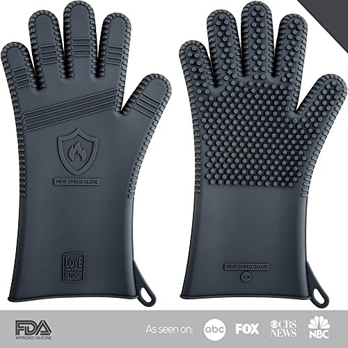 Best Deals! Father's Day Gift Idea: Innovative Men's Barbecue Gloves | Grillmaster Professional Seri...