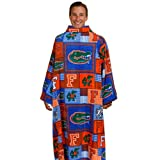 Florida Gators Patchwork Collegiate Snuggie Blanket at Amazon.com