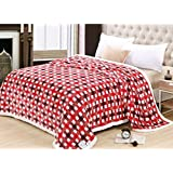 ShopyBucket Super Soft Europa Blanket Double Bed Size 230cm X 250cm Super Lite Super Soft Blanket(Made In India)(Pack Of 1 Piece) - B074MC4ZBT