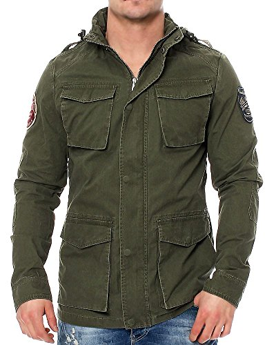 Petrol Industries -  Giacca - Uomo Army Green X-Large
