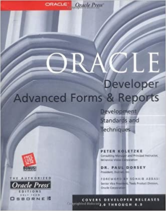 Oracle Developer Advanced Forms and Reports