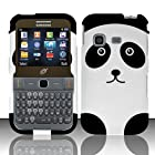 Samsung S390g Case (Straight Talk / Net 10 / Tracfone) Lavishing Panda Design Hard Cover Protector with Free Car Charger + Gift Box By Tech Accessories