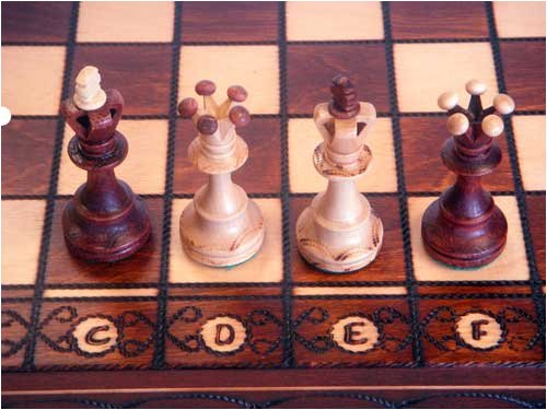 Where To Buy Ambassador European Hand Carved Chess Set 4