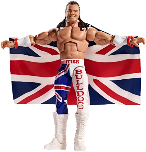 WWE Elite Figure, British Bulldog (British Statue compare prices)