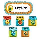 Carson Dellosa Boho Birds and Birdhouses Bulletin Board Set (110217)