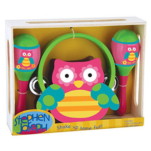 Stephen Joseph toys Percussion Owl Music Set