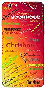 Chrishna (Add Meaning) Name & Sign Printed All over customize & Personalized!! Protective back cover for your Smart Phone : Samsung Galaxy S5mini / G800