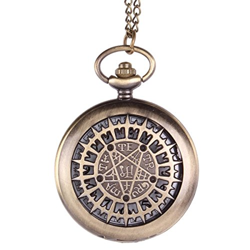 uniquebella-unisex-antique-bronze-flip-open-quartz-pocket-watch-pendant-with-chain-necklace-starburs