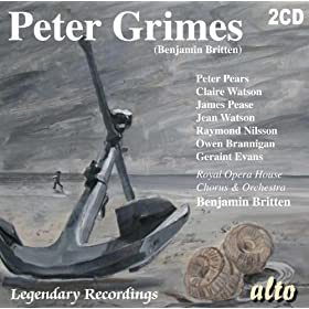 Peter Grimes: Act Two: II. Glitter of waves