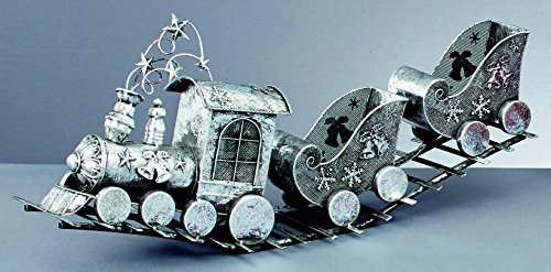 76cm-luxury-silver-metal-train-with-sleigh-carriages-christmas-train-decorations-christmas-ornaments