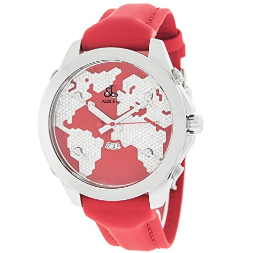 jacob-and-company-five-time-zones-red-enamel-diamond-dial-unisex-watch