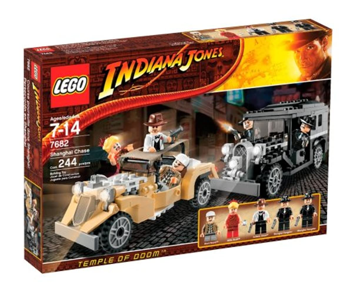 [해외] LEGO INDIANA JONES SHANGHAI CHASE (7682)