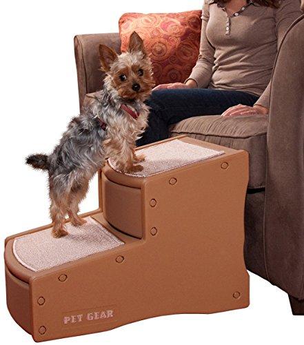 Artikelbild: Pet Gear Easy Step II Steighilfe/Treppe für Hunde, klein, Kakao/Beige
