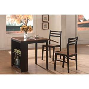 Persia 3-Pc Breakfast Table Set by Coaster