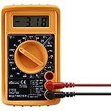 eSecure:Magnifique multimètre numérique Voltmètre Ampèremètre AC DC ohmmètre