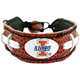 NCAA Illinois Illini Classic Football Bracelet at Amazon.com