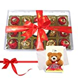 Tasty And Rich Collection Of Wrapped Chocolates With Sorry Card - Chocholik Luxury Chocolates
