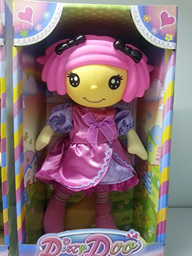 "9"" Dizzy Doo Doll - Pink Hair with Yellow Dress"