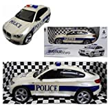BMW Style Police Toy Car Radio Control Boys Kids Gift