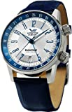Vostok Europe - Gaz-14 Limousine - Dual Time - Blue - 2426/5601057