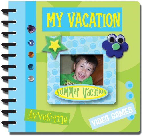 Kids Memory Minis Mini Scrapbook Kit-My Vacation