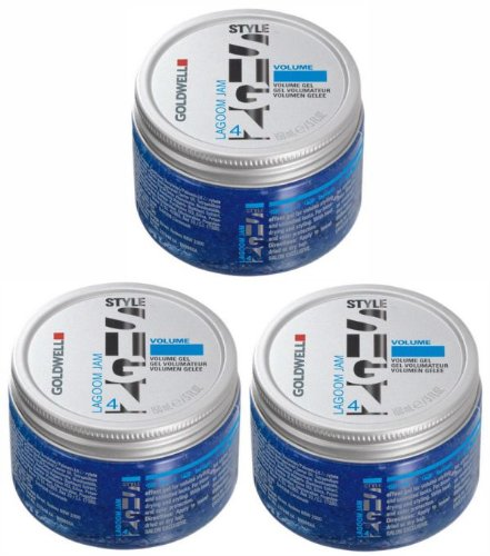 3 x Goldwell StyleSign Volume Lagoom Jam 150 ml.