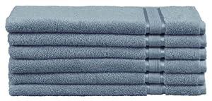 Encore 6-Piece Hand Towel Set, Bluestone