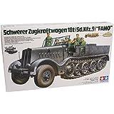 Schwerer Zugkraftwagen 18t Sd.Kfz.9 Famo (German Heavy Half Track) - 1:35 Scale Military - Tamiya