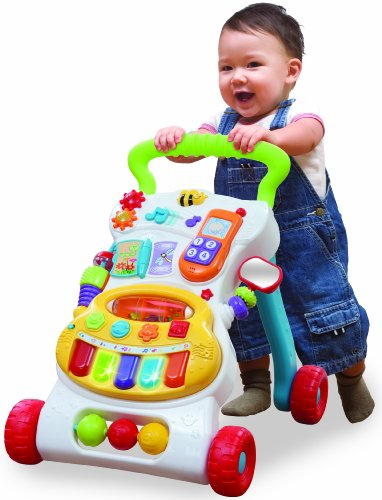 Toys For Toddlers Learning To Walk : Winfun grow with me musical walker b ey ms baby