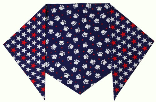 Patriotic Paws Bandana for Dogs- Large