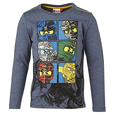 Lego Wear Boy's Ninjago Tony 617 L/S T-Shirt