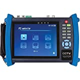 "7"" LCD Multifunction CCTV Tester for HD-SDI and IP/PoE"