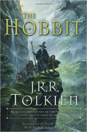 The Hobbit: An Illustrated Edition of the Fantasy Classic written by Charles Dixon