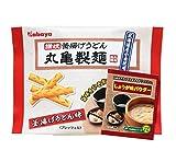 カバヤ 丸亀製麺プレッツェル 釜揚げうどん味 38g×10袋