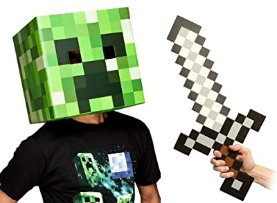 Minecraft 12 Creeper Head Sword Costume Kit by toynk