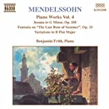 Capriccio in E major op.118 Mendelssohn