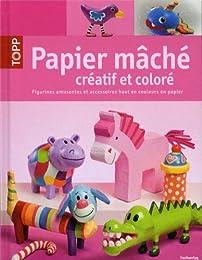 Papier mâché créatif et coloré
