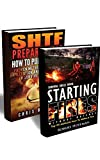 img - for Survival Skills BOX SET 2 IN 1: 25 Methods How To Make A fire + 25 Ways To Purify And Filter Water: (Prepper's Survival, Preppers Survival Guide, How To ... books, survival, survival books Book 3) book / textbook / text book